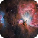 Orion M42 and Running Man Sh2-279 Captured in HaLRGB,                                Chuck's Astrophot...