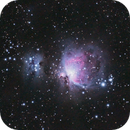 M42 - First attempt with a star tracker,                                Maxence Ouafik