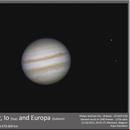 Jupiter, Io and Europa,                                Koen Dierckens