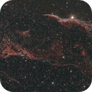 NGC 6960  Western Veil and Pickering's Triangle,                                Alan Brunelle