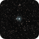 """NGC6543 """"Cat's Eye"""" LRGB with DLSR and CCD,                                Giosi Amante"""