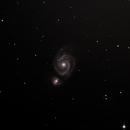 M51 Whirlpool-Galaxie,                                fanthomas