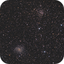 NGC6946 (Fireworks Galaxy) with Open Cluster NGC6939,                                Jeff Donaldson
