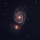 M51a, NGC5194,                                Gabriel Dornier