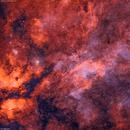 IC1318 Sadr Region Solved Bi-Color Ha+OIII,                                SMG_Astrofotografia