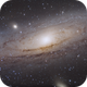 the Great Andromeda Galaxy from Corsica and ASI1600 :),                                Gianni Cerrato