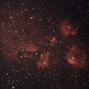 NGC 6334, Cats Paw Nebula, MN190,,                                glend