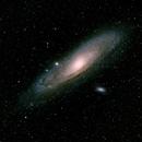 Messier 31 - The Andromeda Galaxy,                                Dennis Ruzeski