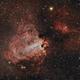 M17 Omega/Swan Nebula,                                jeff2011