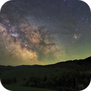 The Milky Way from the Bieszczady Mountains,                                Łukasz Żak