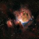 Nebula M42 in Orion 2021,                                Stephen Heliczer FRAS