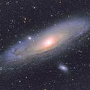 M31 - Andromeda Galaxy - second attempt,                                deepanshu29