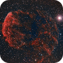 The Jellyfish Nebula - IC443 in Ha and OIII,                                Stuart Stakoff