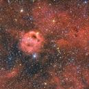 Sh2-173 (Phantom of the opera nebula),                                Rodrigo