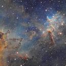 Melotte 15 in the Heart Nebula,                                Richard Francis