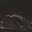 NGC 6960,                                ashdered