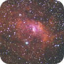 """NGC 7635 """"Bubble""""  HSO Unguided Crop,                                Seldom"""