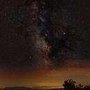 Milky way from Zaldiaran mountain,                                Francisco
