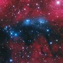 NGC6914 LRGB+Ha,                                Christopher Gomez