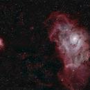 The Trifid & Lagoon nebulae (M20 & M8),                                gibran85