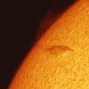 Primera Protuberancia Solar 2015,                                PepeManteca