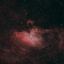 M16 Eagle Nebula HOO,                                Matthias Steiner