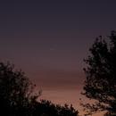 Waning crescent Moon,                                Starware