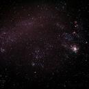 Caldwell 103 - NGC2070 - 30 Doradus - Tarantula Nebula in a wide field shot of its home The Large Magellanic Cloud ,                                Geoff Scott