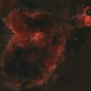 IC1805: Heart Nebula in HSS Palette,                                Monkeybird747