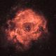 Rosette Nebula (H-alpha),                                HenrikE