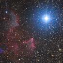 IC 59 & IC 63 - Ghost in the sky,                                Jari Saukkonen