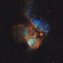 NGC 2467 Skull & Crossbones Nebula,                                EmuHead