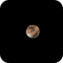 My very first photo of the planet Mars,                                Daniel Leclerc