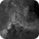 Dust lanes of the Heart Nebula,                                Thomas Richter