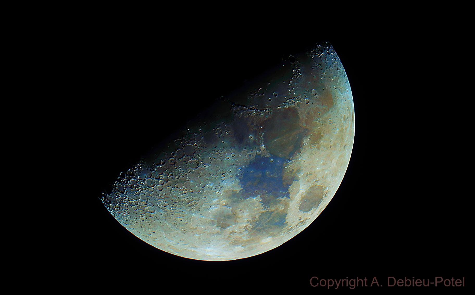Lune du 24/02/2018 (RC 154/1370 OTA) moon,                                Axel Debieu-Potel