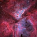 The η Carinae Nebula,                                Connor Matherne