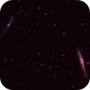 Caldwell 32-The Whale Galaxy and Crowbar Galaxy,                                gibran85