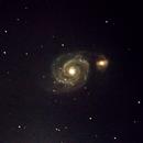 Galáxia do Redemoinho - M51,                                Geovandro Nobre