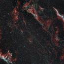 Cygnus Loop - From Eastern Veil to Western Veil,                                urban.astronomer