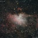 M 16, Eagle Nebula,                                José J. Chambó