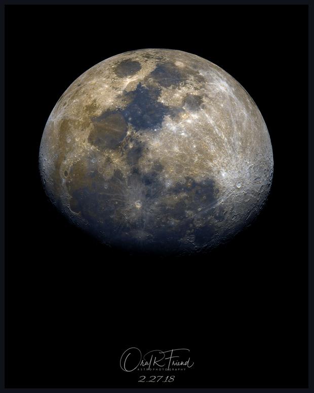 La Lune écrasée (The Squashed Moon),                                Oral R Friend