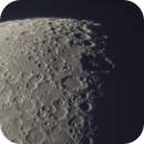Moon 01.04.2020. South pole of the Moon.,                                Sergei Sankov