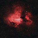 Messier 17 - Omega Nebula,                                Cluster One Observatory