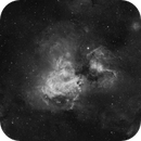 The Omega region- M17 and IC4701,                                Daniel Pázmán