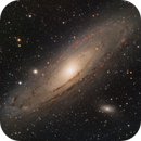 M31 The Andromeda Galaxy (2020 Edition) in LHaRGB,                                Eshan Toorabally