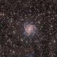 The Hidden Galaxy (IC 342) in L/HαRGB (OkieTex Star Party 2019),                                Brent Newton