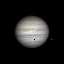 Jupiter, Ganymede shadow transit.,                                Brian Ritchie