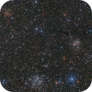 NGC 654, NGC 663, IC 166 and LDN 1332,1334,1337 in Constellation of Cassiopeia,                                Falk Schiel