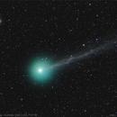 Comet Lovejoy and M79,                                José J. Chambó
