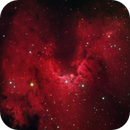 Cave Nebula HaRGB,                                SJK
